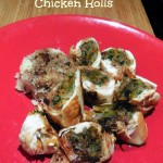 Vegetable Stuffed Chicken Rolls – Recipe
