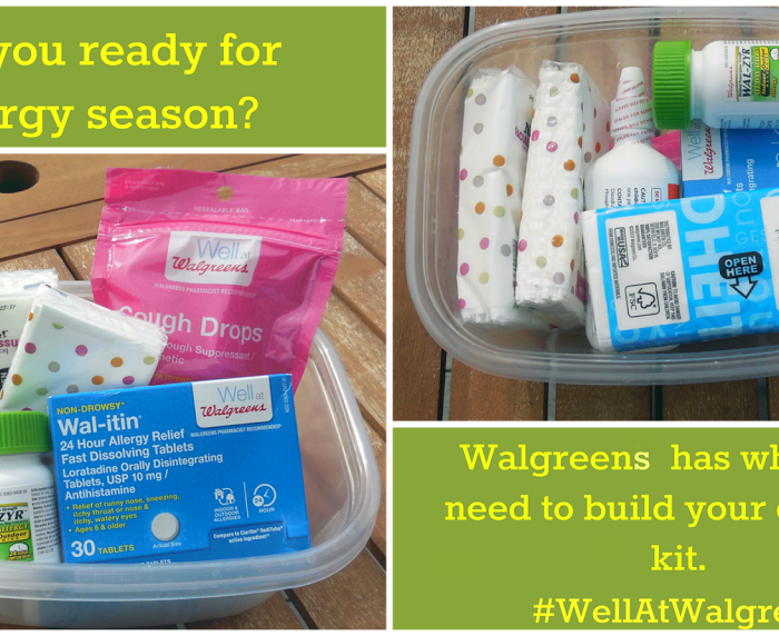 Thanks to #WellAtWalgreens Allergy Issues Won't Rule Our Lives! #shop