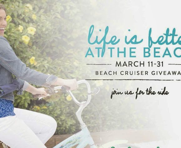 Win a Custom Beach Cruiser Bike from Fresh Produce #Ad