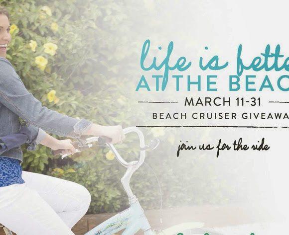 Win a Custom Beach Cruiser Bike from Fresh Produce #Ad