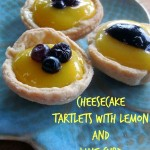 Baking for the Firemen – Cheesecake Tartlets with Lemon and Lime Curd