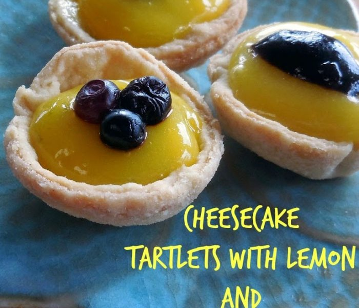 Cheesecake Tartlets with Lemon and Lime Curd – Baking for the Firemen