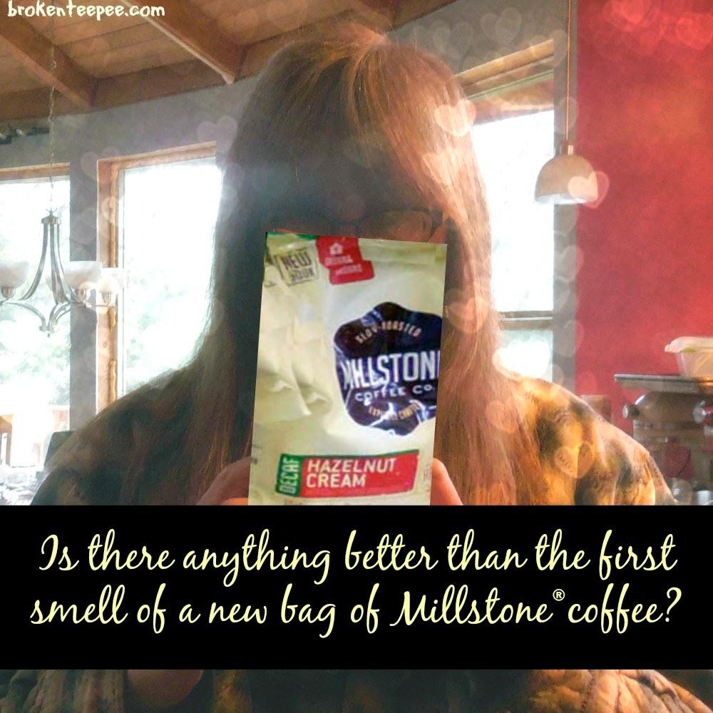 First smell of new Millstone® coffee, #CoffeeJourneys, #shop, #cbias