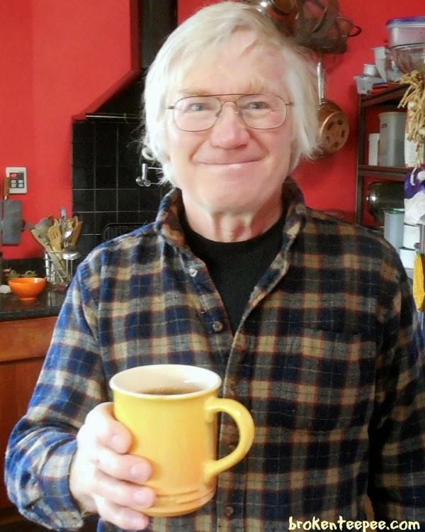 husband with Millstone® coffee, #CoffeeJourneys, #shop, #cbias