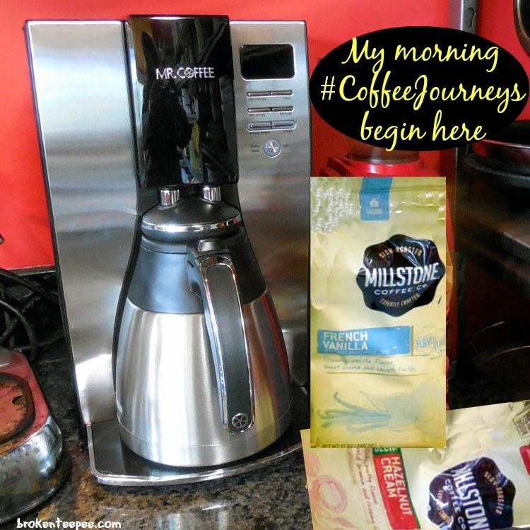 Mr. Coffee®, Millstone® coffee, #CoffeeJourneys, #shop, #cbias