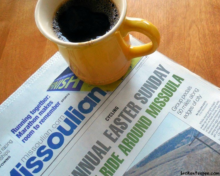 Sunday #CoffeeJourneys with paper, Millstone® coffee, #CoffeeJourneys, #shop, #cbias