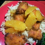chicken recipe, sweet and spicy orange chicken