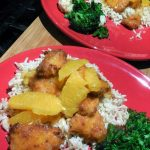 baked orange chicken recipe, easy spicy chicken, sweet and spicy orange chicken