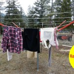 5 Reasons To Hang Your Clothes Outside to Dry #spon