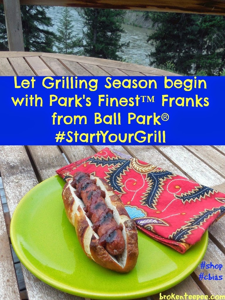 Park's Finest™ Frankfurters from Ball Park® on a plate, #StartYourGrill, #spon, #cbias