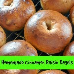 Homemade Cinnamon Raisin Bagels – Recipe
