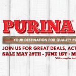 The Farm Animals Celebrate #PurinaDays with Tractor Supply
