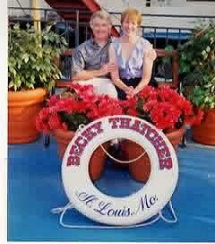 photo opp, Becky Thatcher, Mississippi River Cruise