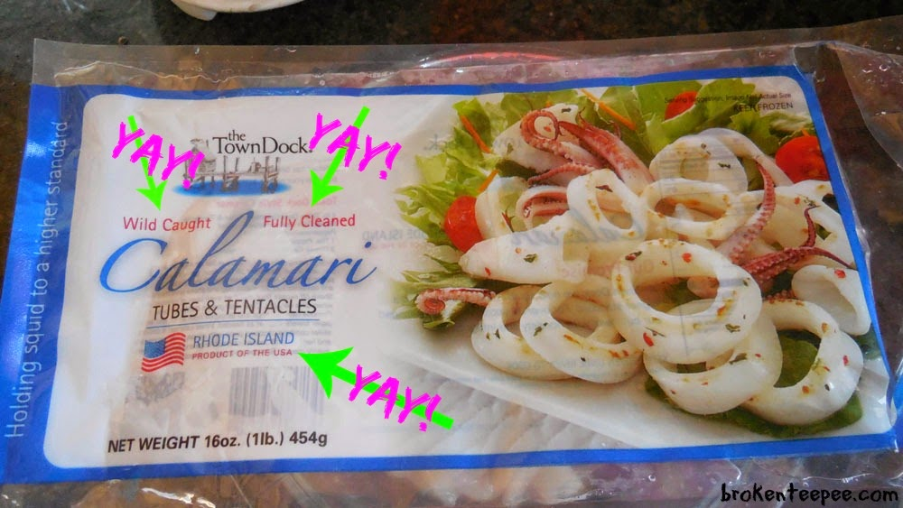 Calamari from Anderson Seafoods