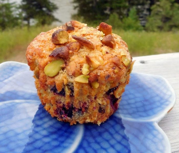 Muffin Recipe – Cherry, Chocolate and Pistachio