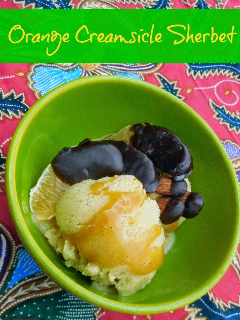 Orange Creamsicle Sherbet, #SilkAlmondBlends, #shop, #cbias