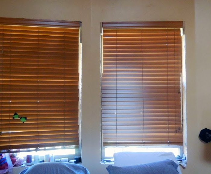 Blinds in the Bedroom – Some Light Reduction