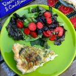 Roasted Broccoli and Cauliflower Quiche – Recipe