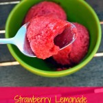 Strawberry Lemonade Sorbet – Recipe