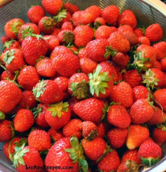 Strawberry Syrup – Recipe