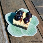 Baking for the Firemen: Black Forest Brownie Cheesecake