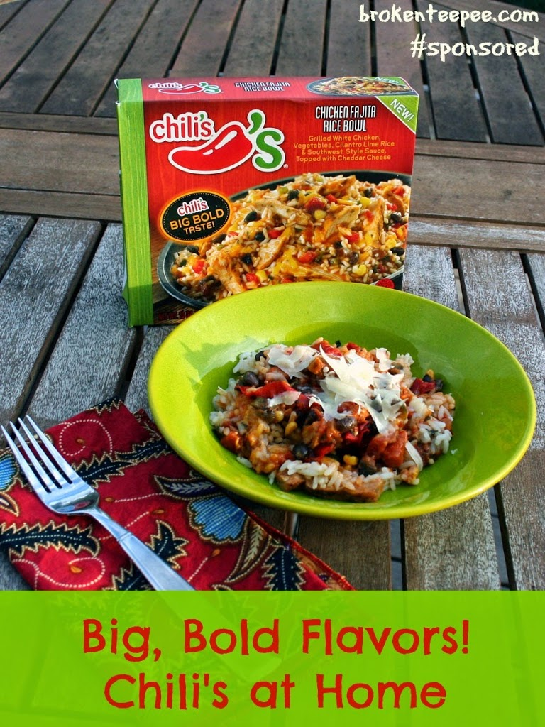 big bold flavors from chili u0027s at home makes for easy dinners