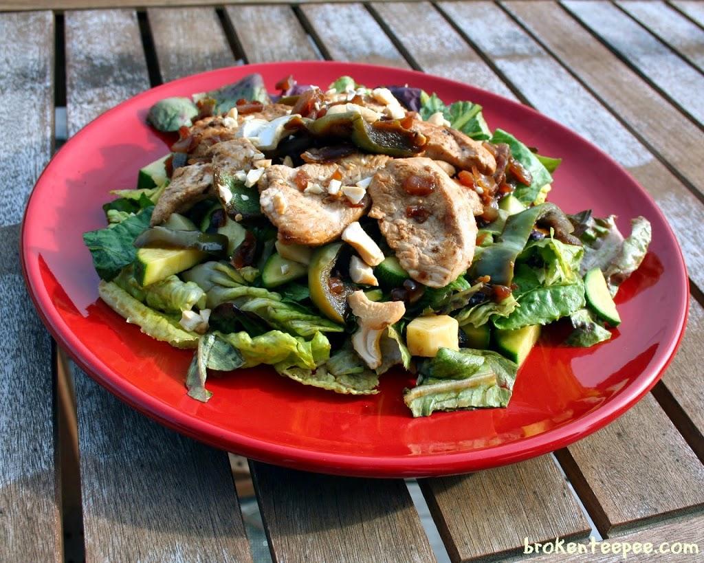 Garden Chicken Salad, #NutrishforCats, #MC, #Sponsored