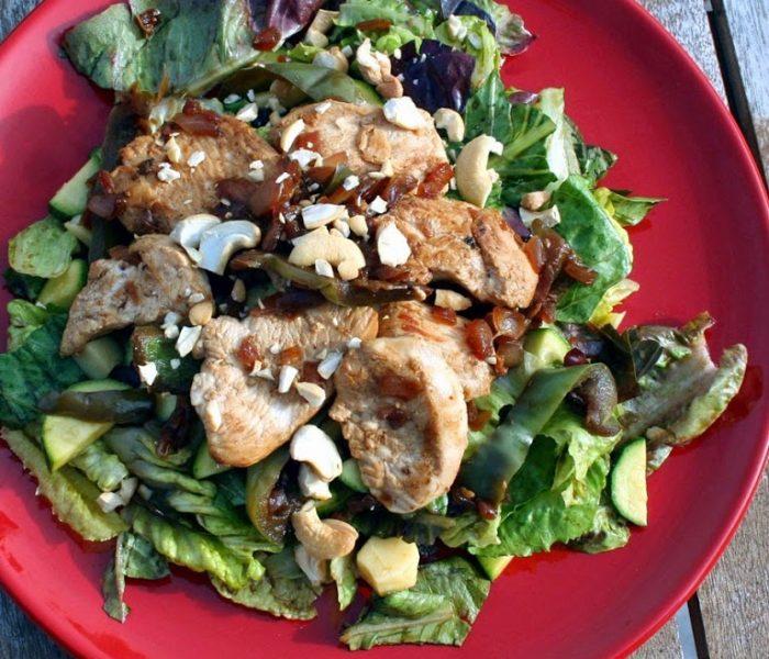 Chicken Garden Salad – A Low Calorie Recipe