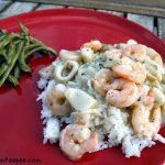 Seafood Medley in Garlic Wine Sauce
