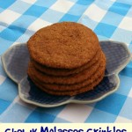 Baking for the Firemen: Chewy Molasses Crinkles – Recipe