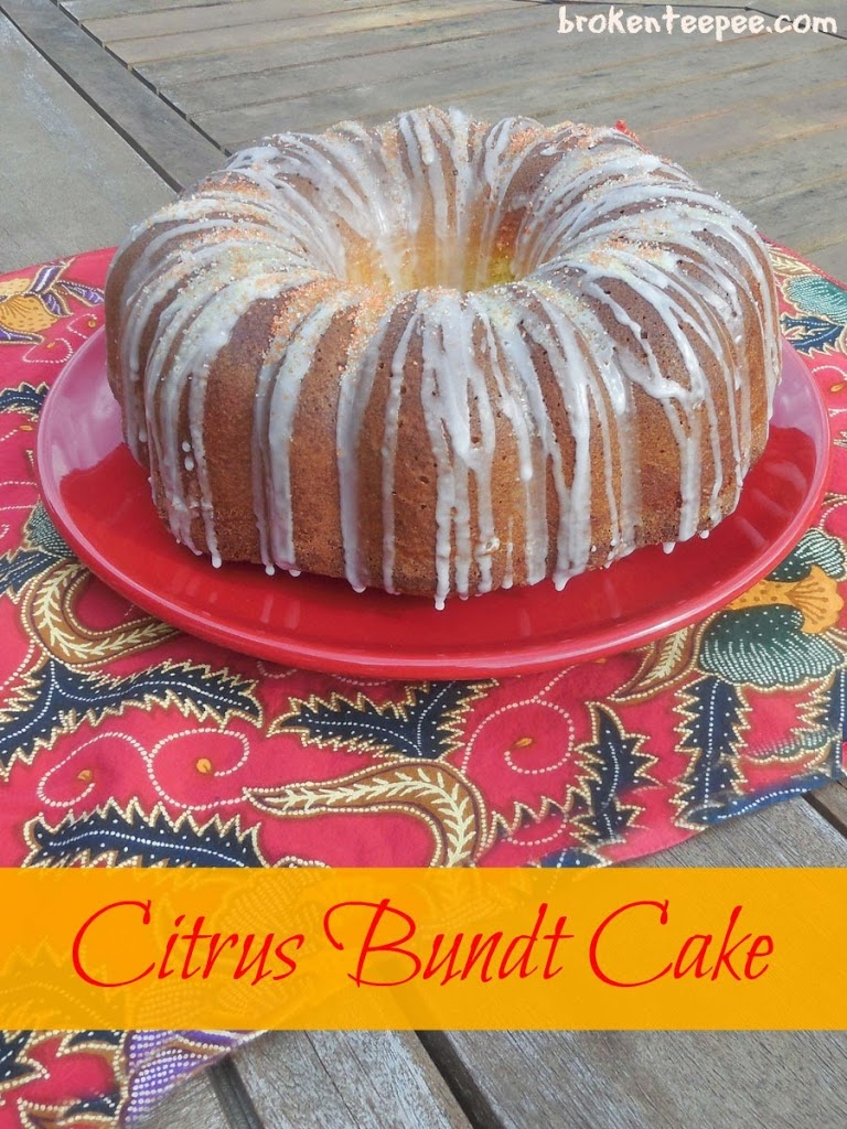 citrus bundt cake recipe