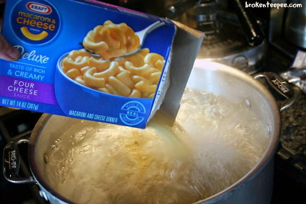 Kraft Deluxe Dinner Four Cheese, Kraft on Rollback, #RollIntoSavings, #shop, #cbias