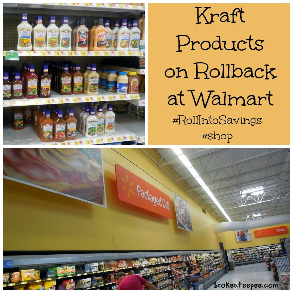Kraft Products at Walmart, Kraft on Rollback, #RollIntoSavings, #shop, #cbias