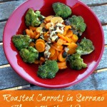 Roasted Carrots in Serrano Honey Mustard Sauce – Recipe