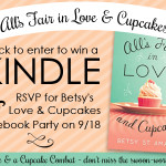 All's Fair in Love and Cupcakes by Betsy St. Amant – Blog Tour and Book Review