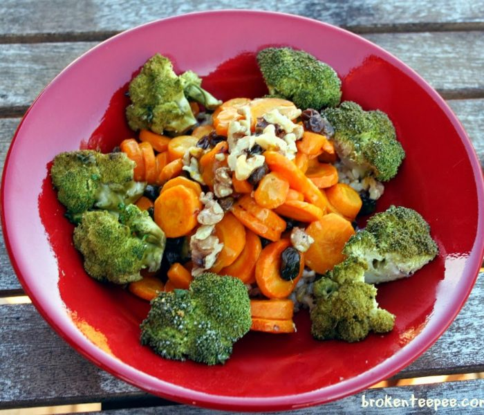 Roasted Carrots in Serrano Honey Mustard Sauce – Recipe