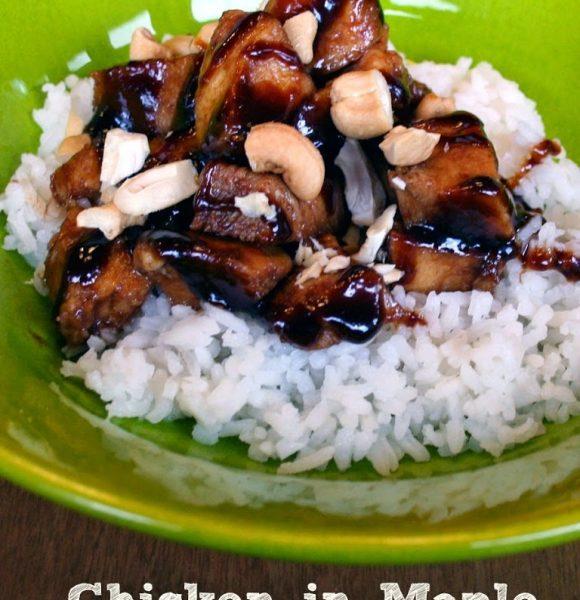 Chicken in Maple Barbecue Sauce – Recipe
