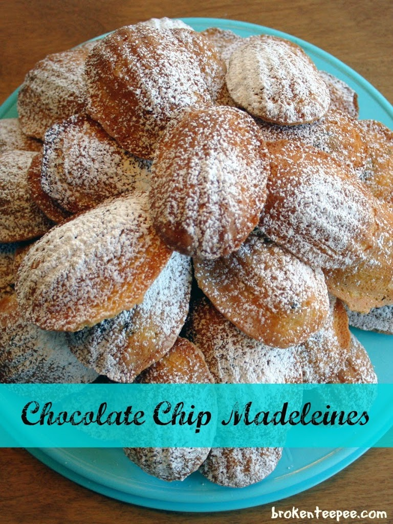 Chocolate Chip Madeleines Recipe — Dishmaps