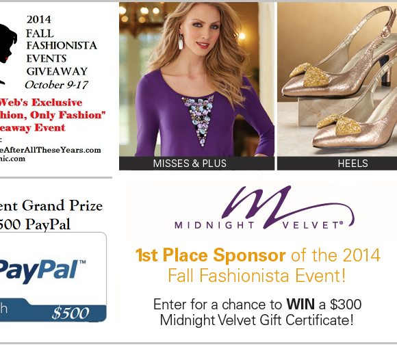 Fall Fashionista Event – FashionPrize Package Giveaway #FashionistaEvents