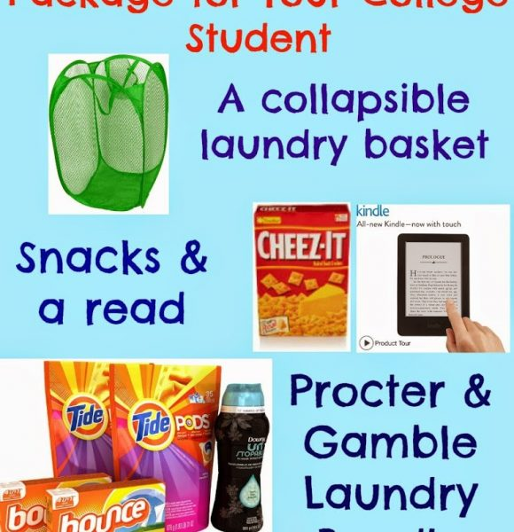Make a Laundry Care Package for Your College Student Using AmazonWishList