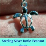 Sterling Silver Turtle Pendant from Honolulu Jewelry Company – Review and Giveaway