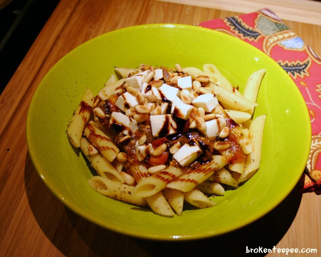 penne-in-tomato-sauce
