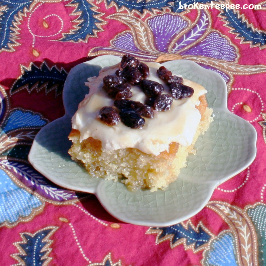 Maple Cake Recipe – A Thanksgiving Dessert