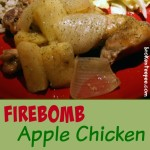 Firebomb Apple Chicken with Spiced Rice – Slow Cooker Recipe