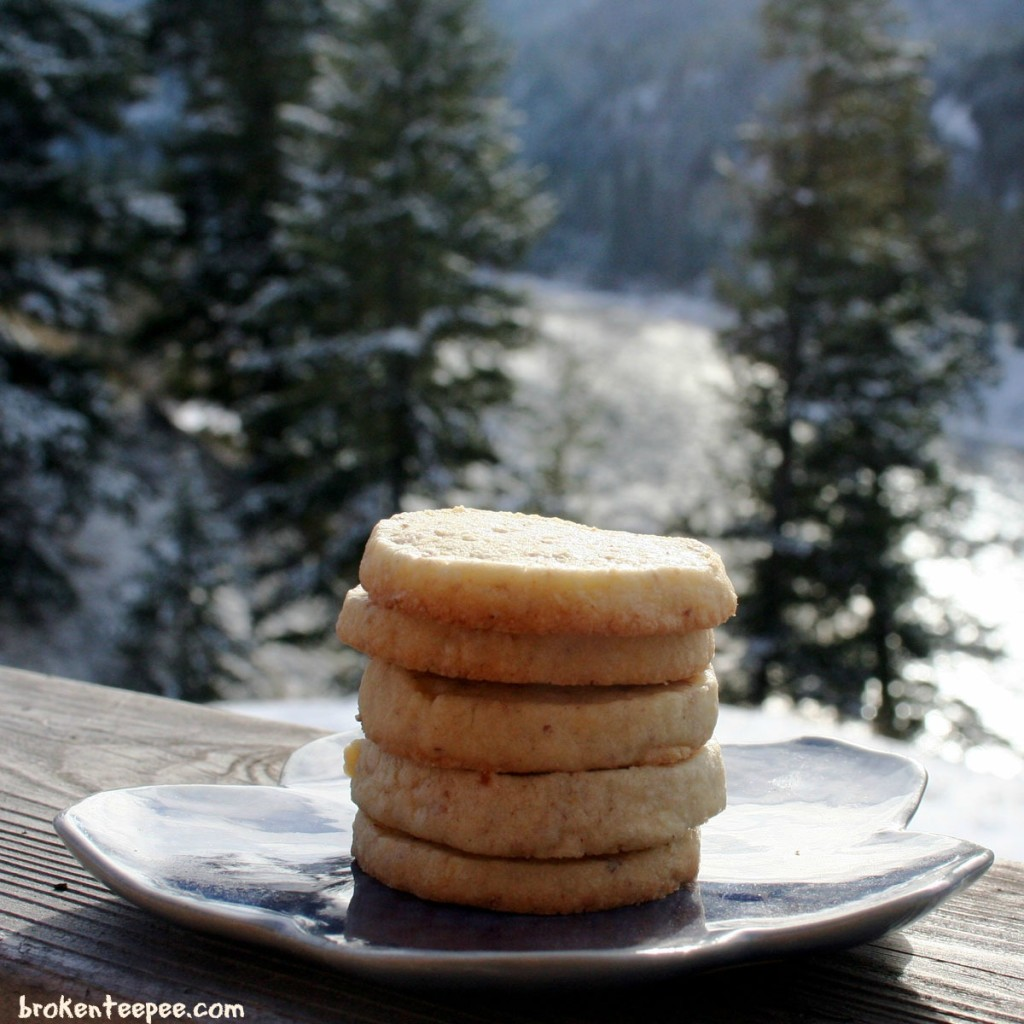 Almond Shortbread Cookies, cookie recipe, shortbread cookie recipe