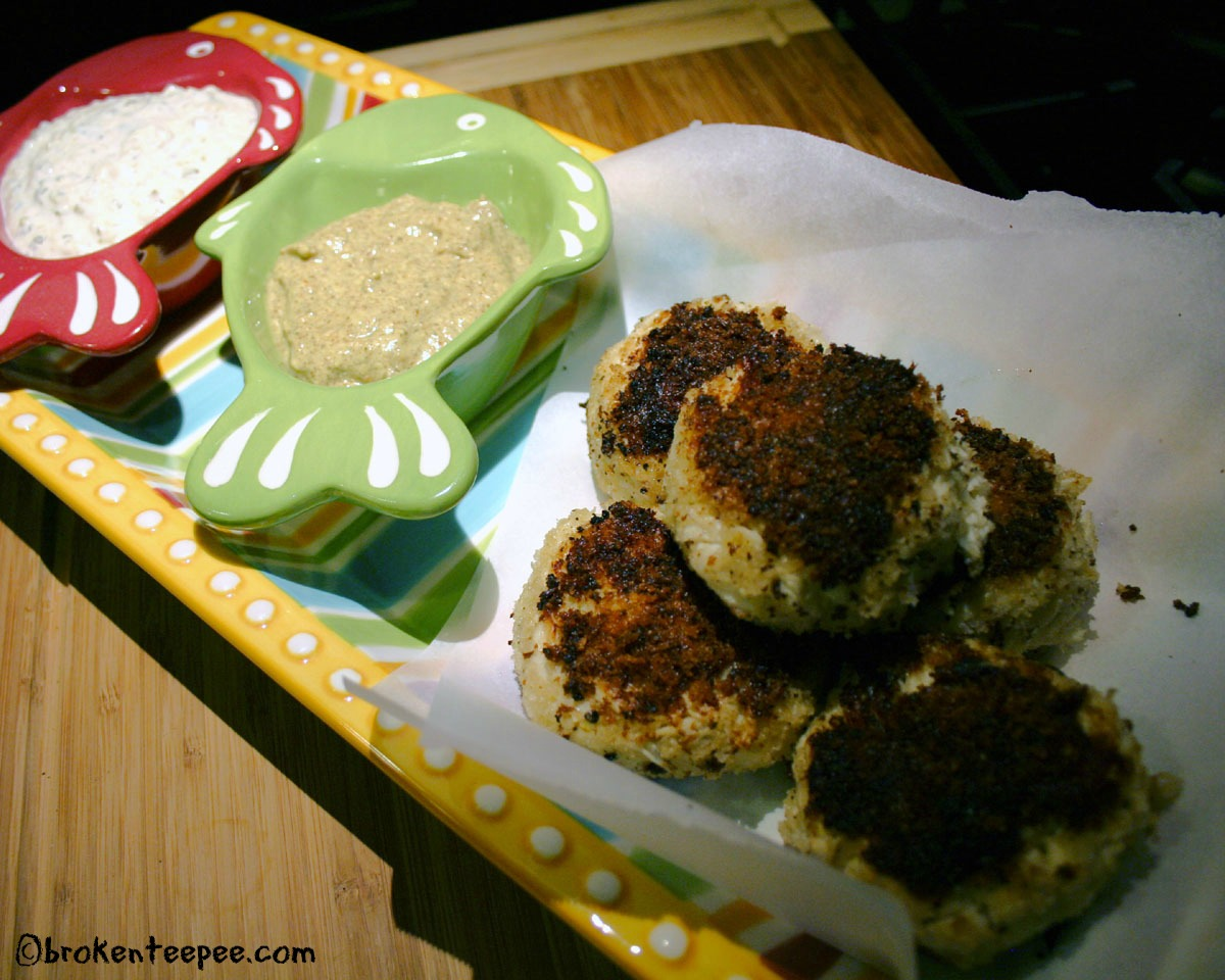 A Tale of Christmas Dinner Past – Crab Cake Recipe