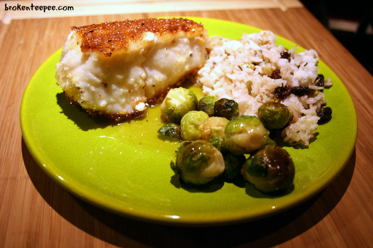 Chilean Sea Bass in Lemon Sauce – Recipe