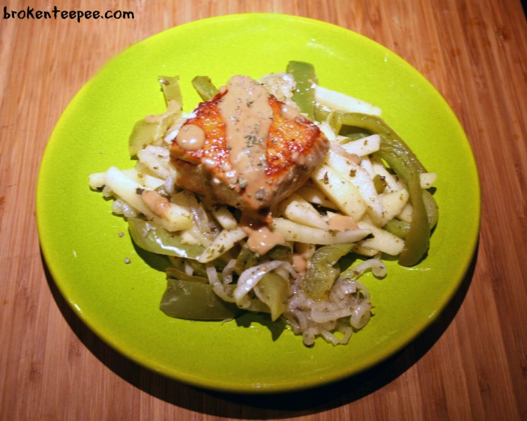 salmon-with-mustard-sauce