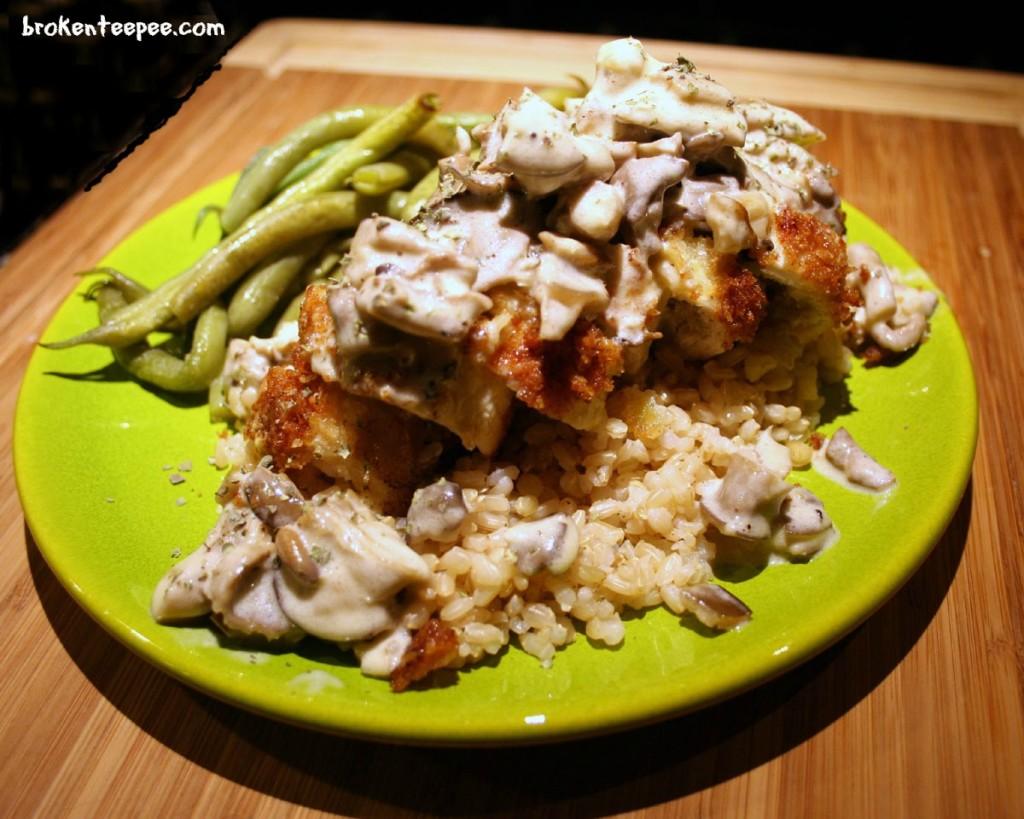 stuffed-chicken-with-mushroom-sauce