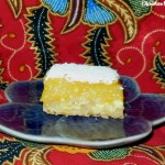 Baking for the Firemen – Lemon Bars Recipe